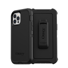 OtterBox Defender Etui Pancerne z Klipsem do iPhone 12 Pro / iPhone 12 (Black)