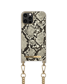 iDeal of Sweden Necklace Etui Obudowa ze Smyczą do iPhone 12 Pro / iPhone 12 (Desert Python)