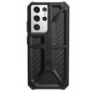 Urban Armor Gear Monarch Etui Pancerne do Samsung Galaxy S21 Ultra (Carbon Fiber)