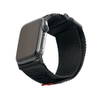 Urban Armor Gear Active Strap Materiałowy Pasek do Apple Watch 5 (40mm) / Apple Watch 4 (40mm) / Apple Watch 3 (38mm) / Apple Watch 2 (38mm) / Apple Watch 1 (38mm) (Black)