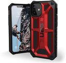 Urban Armor Gear Monarch Etui Pancerne do iPhone 12 Mini (Crimson)