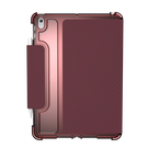 Urban Armor Gear [U] Lucent Etui Pancerne do iPad 10.2 (2020) / iPad 10.2 (2019) (Aubergine/Dusty Rose)