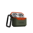 Urban Armor Gear Hard Case V2 Etui Pancerne do AirPods Pro (Olive/Orange)