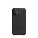 Urban Armor Gear Metropolis LT Skórzane Etui Pancerne do iPhone 12 Mini (LTHR ARMR Black)
