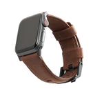 Urban Armor Gear Leather Strap Skórzany Pasek do Apple Watch 5 (44mm) / Apple Watch 4 (44mm) / Apple Watch 3 (42mm) / Apple Watch 2 (42mm) / Apple Watch 1 (42mm) (Brown)