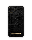 iDeal of Sweden Atelier Etui Obudowa do iPhone 11 Pro Max / iPhone Xs Max (Neo Noir Croco)