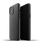 Mujjo Full Leather Case Etui Skórzane do iPhone 12 Pro Max (Black)