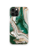 iDeal of Sweden Fashion Etui Obudowa do iPhone 12 Pro / iPhone 12 (Golden Jade Marble)