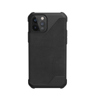 Urban Armor Gear Metropolis LT Etui Pancerne do iPhone 12 Pro / iPhone 12 (LTHR ARMR Black)
