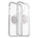 OtterBox Symmetry Clear Pop Etui Ochronne z PopSockets do iPhone 12 Pro / iPhone 12 (Clear)