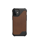 Urban Armor Gear Metropolis LT Skórzane Etui Pancerne do iPhone 12 Mini (LTHR ARMR Brown)