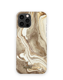 iDeal of Sweden Fashion Etui Obudowa do iPhone 12 Pro Max (Golden Sand Marble)